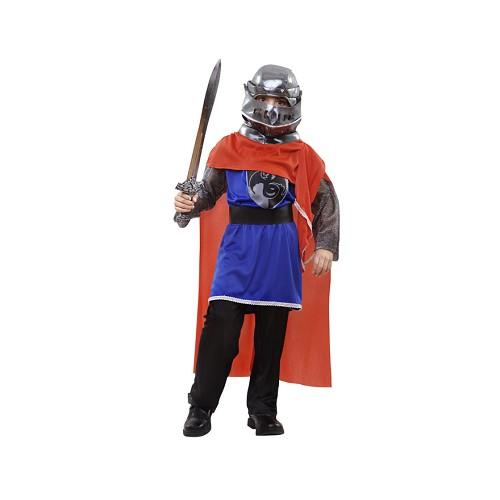 Disfraz Caballero Medieval Capa Roja Infantil