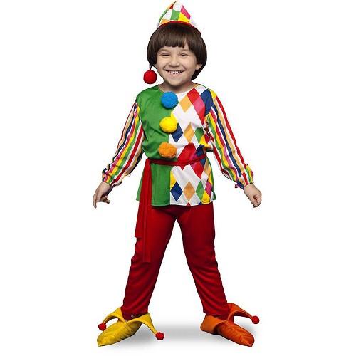 Disfraz Arlequin Colores Infantil