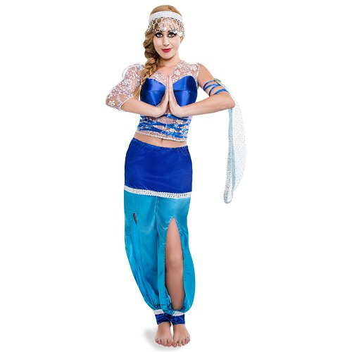 Disfraz Arabe Luna Azul Adulto
