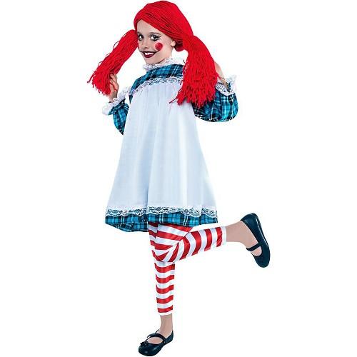 Disfraz Muñeca De Trapo Infantil