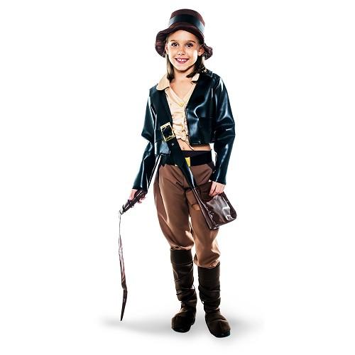 Disfraz Arqueologa Aventurera Infantil