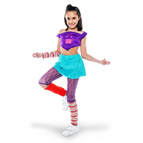 Disfraz Stardance Lila Infantil