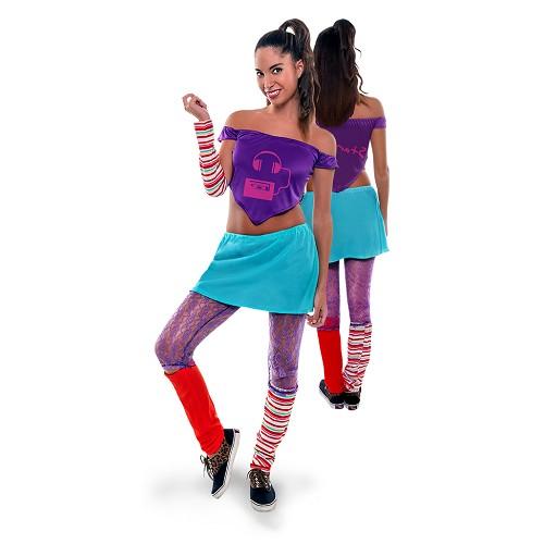 Disfraz Stardance Lila Adulto