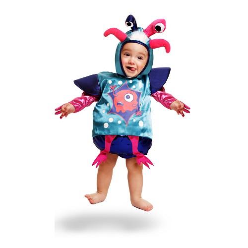 Disfraz Monstruo Divertido Bebe