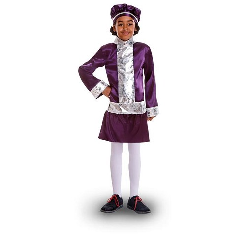 Disfraz Paje Lila Infantil