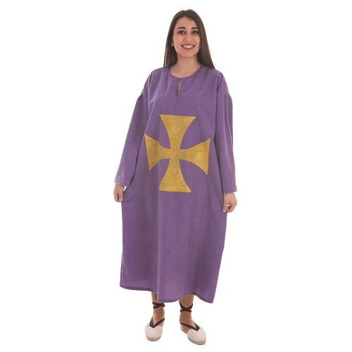 Disfraz Túnica Antelina Púrpura Adulto