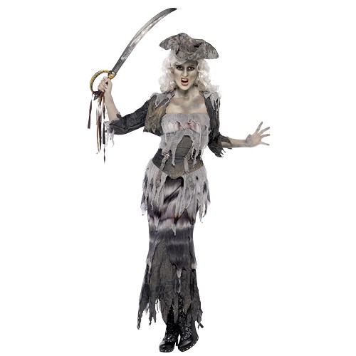 Disfraz Pirata Fantasma Adulto T-L