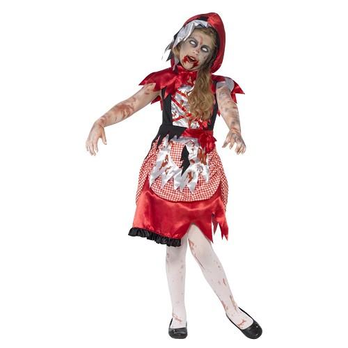 Disfraz Caperucita Zombie Infantil