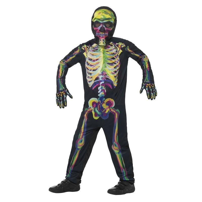 Disfraz Skelet Brilla de Noche Infantil