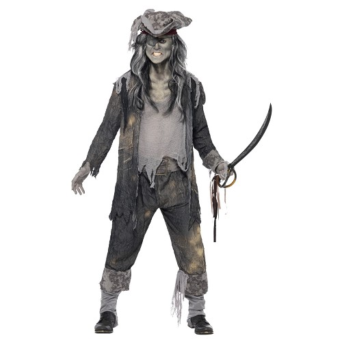 Disfraz Capitán Pirata Fantasma Adulto T-42/44
