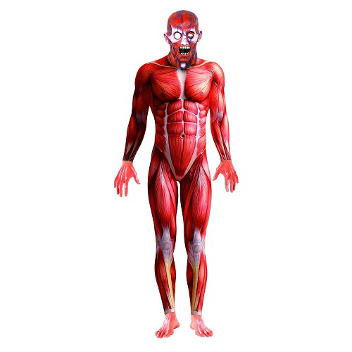 Disfraz Mono Anatomía Humana Adulto T-42/44
