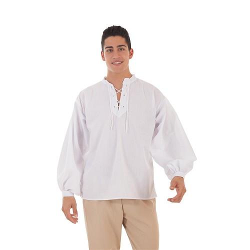 Camisa Medieval Blanca