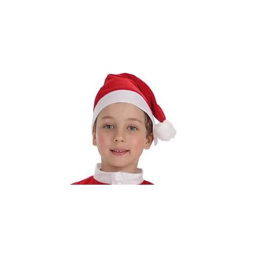 Gorro Papa Noel Infantil - 8 a 12 años