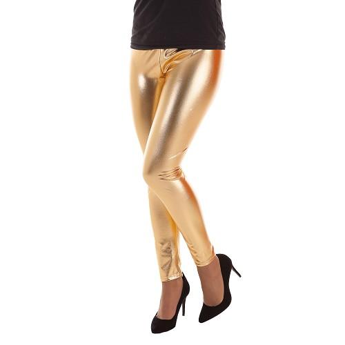 Leggins Metalizado Dorado