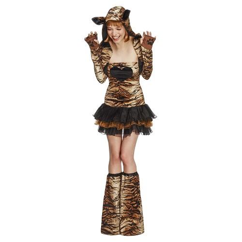 Disfraz Tigresa Tutú Adulto T-M (40-42)