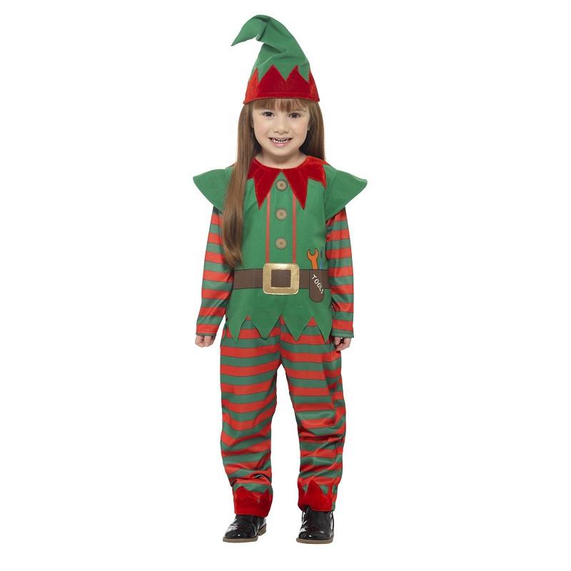 Disfraz Elfo Rayas Infantil