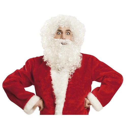 Peluca Y Barba Santa Claus Hombre