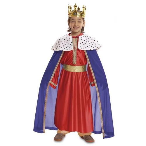 Disfraz Rey Mago Rojo Infantil