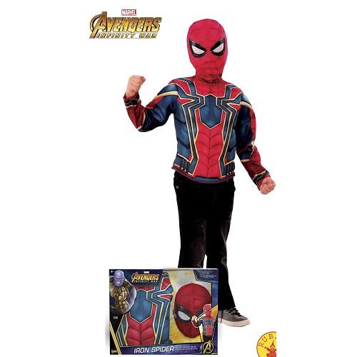 Disfraz Iron Spider Caja Lux Infantil