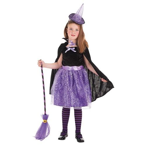 Disfraz Bruja Capa Infantil