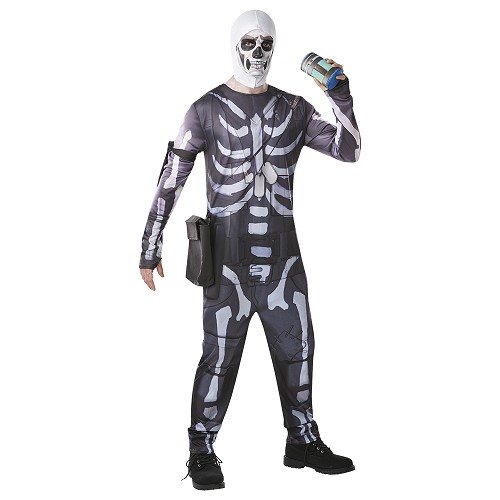 Disfraz Fortnite Skull Trooper Adulto