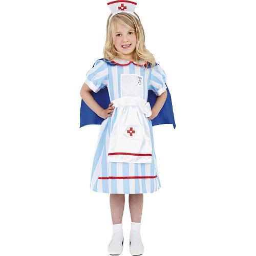 Disfraz Enfermera Vintage Infantil
