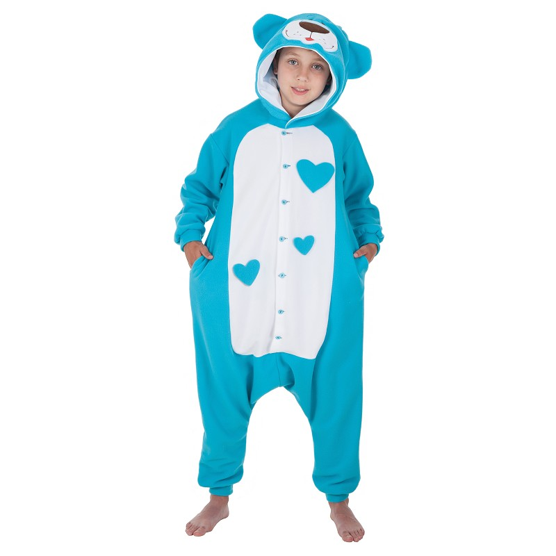Costume d'Inf. Teddy bleu drôle