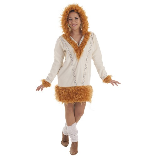 Disfraz Esquimal Nui Mujer Adulto