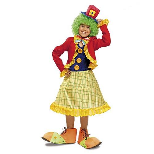 Disfraz Payasita Colorines Infantil