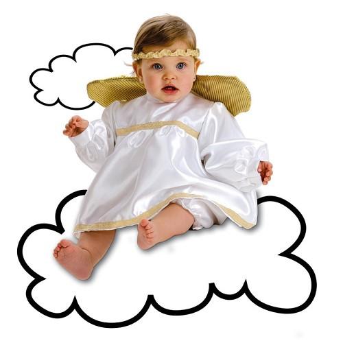 Costume ange bébé (0-12 mois)
