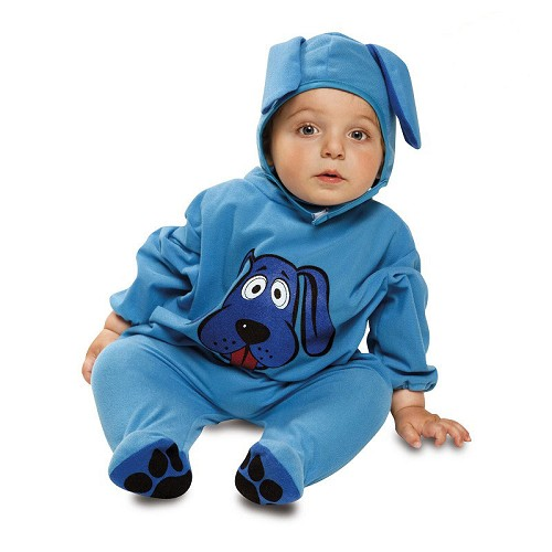Disfraz Perrito Azul Bebé