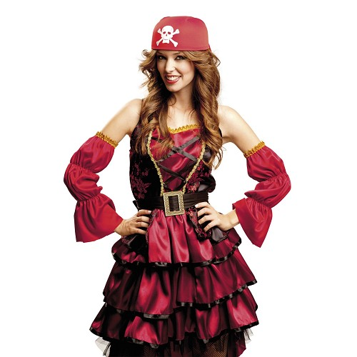 Bandana De Pirata Roja
