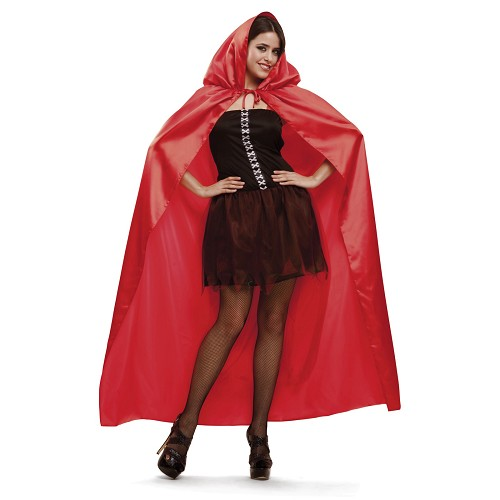 Capa Roja Mujer