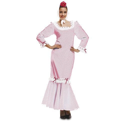Disfraz Madrileña Rojo Mujer