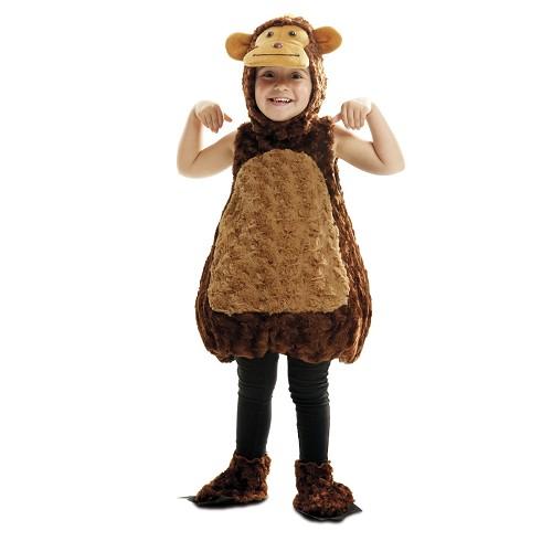 Disfraz Monito Peluche Infantil
