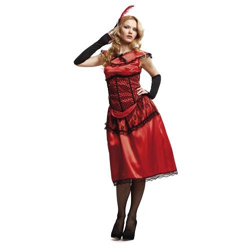 Disfraz Saloon Lady Mujer