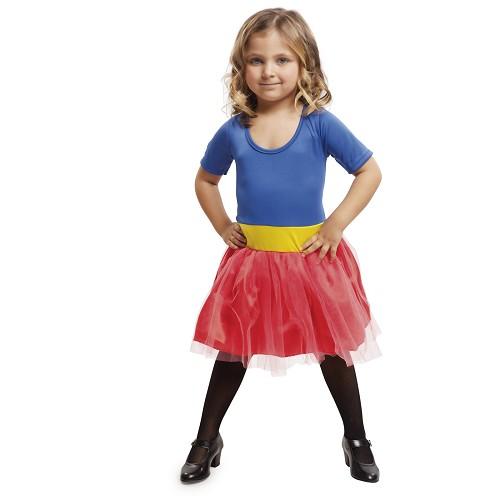 Disfraz Heroína Azul Niña