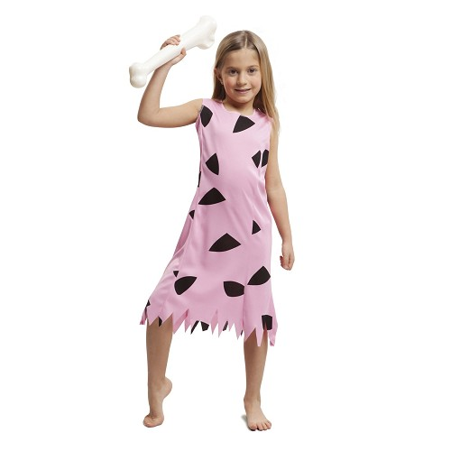 Disfraz Troglodita Pink Niña