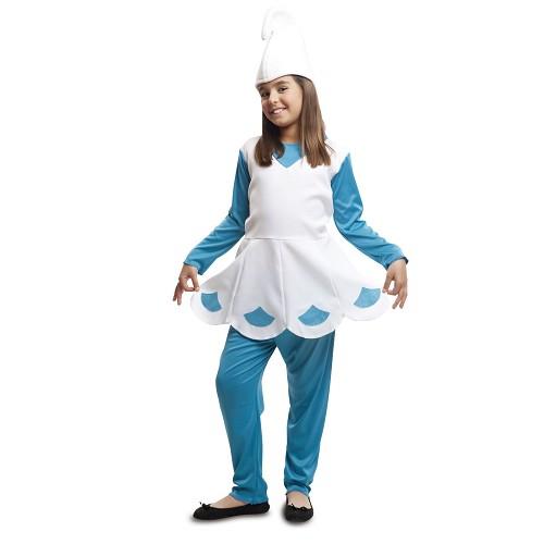 Disfraz Duende Azul Niña