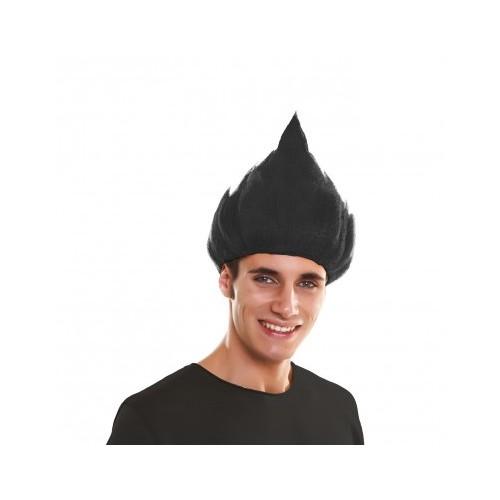 Peluca Troll Negro