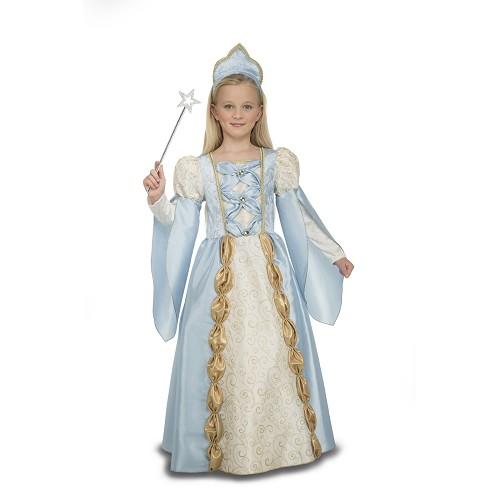 Disfraz Reina Azul Niña