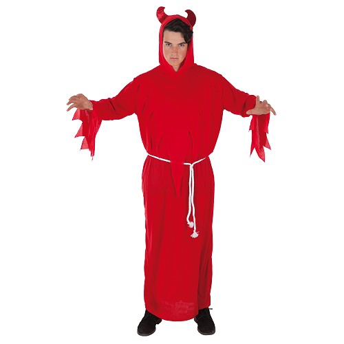 Costume adulte diable rouge