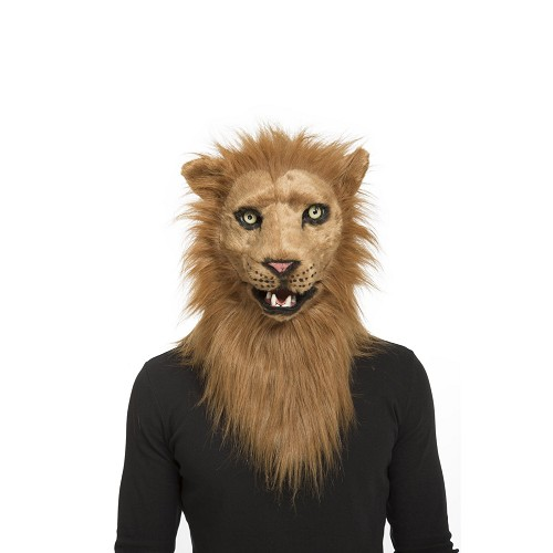 Máscara Con Mandíbula Móvil León Adulto