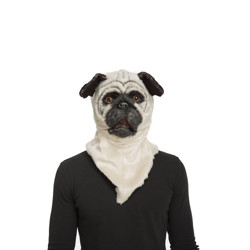 Máscara Con Mandíbula Móvil Bulldog Adulto