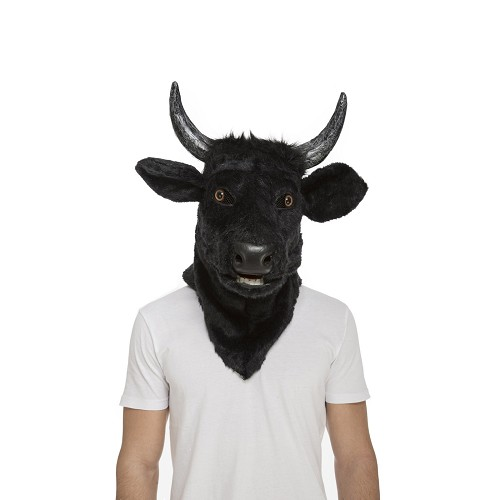 Máscara Con Mandíbula Móvil Toro Adulto