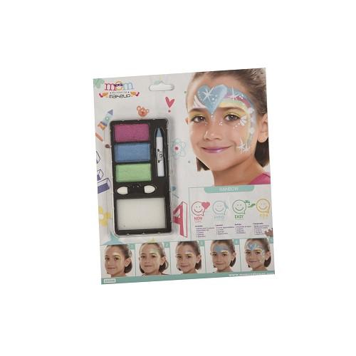 Kit Maquillaje Inf. Perlado Arco-Iris