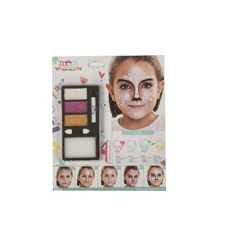 Kit Maquillaje Inf. Perlado Navidad