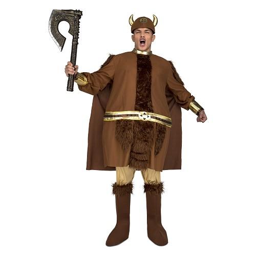Disfraz Vikingo Gordo Hombre