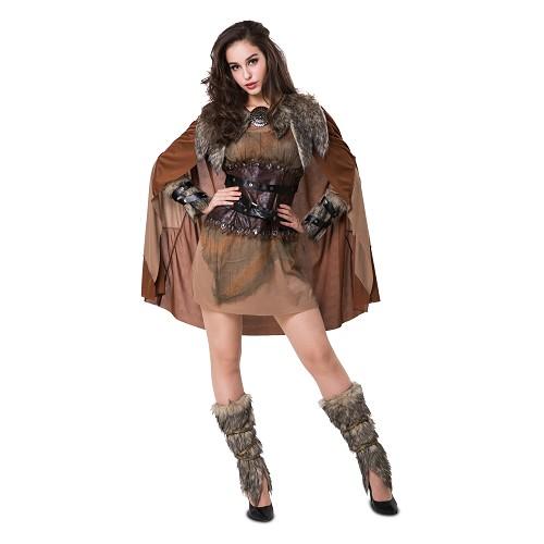 Disfraz Vikinga Nórdica Mujer