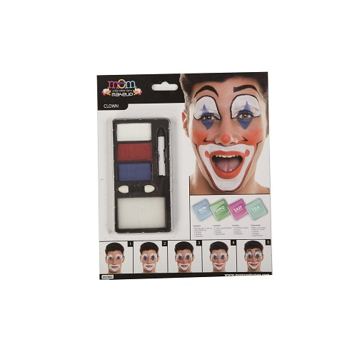 Kit Maquillaje Adulto Payaso